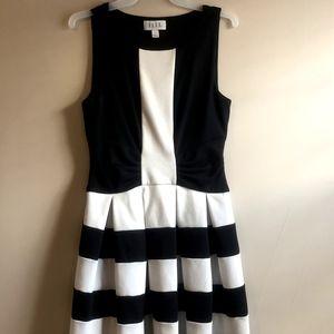 Black and White Dress - Elle